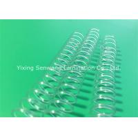 Quality Different Color  Plastic Spiral Binding Coils 48 Rings For Office Home School for sale