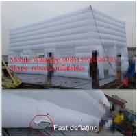 White Inflatable Giant Tent / Inflatable Marquees Fire-Resistant Manufactures