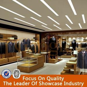 Retail New Style Menswear Garment Shop Interior Gesign Manufactures