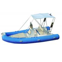 Semi Rigid Inflatable Boat FQB-R600A French Orca Hypalon Tube IACS Manufactures