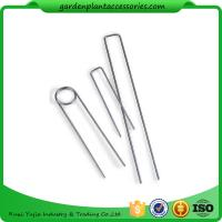 Galvanized Silver Earth Garden Landscape Staples Keep Row Covers Item Garden Earth Staples Manufactures