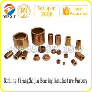 Quality Oilless bearing gold supplier slide bush factory direct oil bearing bush for sale