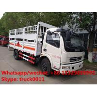 LHD/RHD stake van truck for transporting gas cylinders for sale, hot sale best price dongfeng gas canister van truck Manufactures
