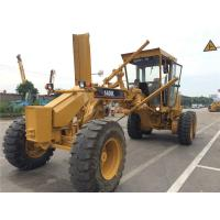 Year 2014 Used Motor Grader CAT 140K , Grader Heavy Equipment With Push Block Manufactures