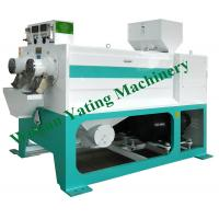 Parallel Silky Rice Polisher Machine Double Roller 8-12 Ton Per Hour ISO Certification Manufactures
