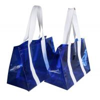 PVC Reusable Transparent Fabric Carrier Bags water proof for shopping Manufactures