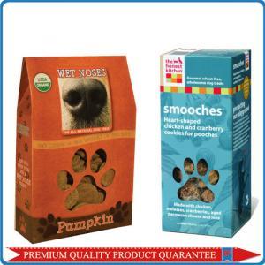 sharp top custom pet animal food color carton box custom cmyk full color print Manufactures