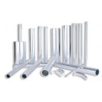 Quality Brown Anodized 3003 Seamless Aluminium Round Tube with Small Tolerance Clutch for sale