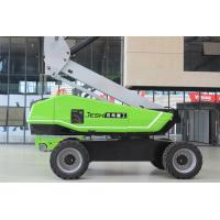 Telescopic Hydraulic Boom Lift 360KG Capacity For Building Maintenance Manufactures