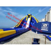 World's biggest largest inflatable waterslide coming inflatable trippo slide water slide Manufactures