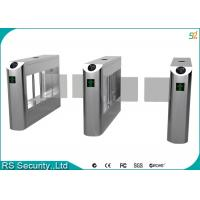 intelligent Stainless Steel Swing Barrier Gate full height tripod turnstiles Manufactures