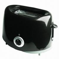 China 2-slice Toaster, Cool Touch Housing with Cover on Top, Detachable Crumb Tray and 750W Power on sale