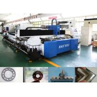 1kw Cnc Steel Pipe Cutting Machine For Metal Tube / Plate Carbon Steel , High Speed Manufactures