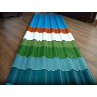 customized color CGCC, DX51D Z adornment Pre painted Corrugated steel Roof Sheets / Sheet Manufactures