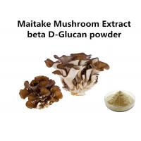 Food Grade Maitake Mushroom Polysaccharides Extract Light Yellow Fine Powder Anti - Cancer Manufactures