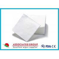 Kitchen Disposable Dry Wipes Rolls / Dry Cleaning Alcohol Free For Fabric Manufactures