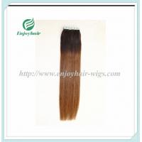 "Tape Hair extension 16""-28""L,100s/pack T1B#/4# color Straight malaysian virgin hair Manufactures"
