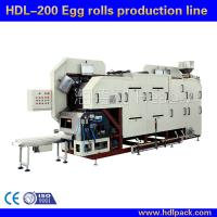 Quality Big Egg Roll Machine Manufacturer for sale