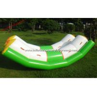 Quality Adult PVC Tarpaulin Inflatable Teeter Totter Outdoor Inflatable Double Rocker for sale