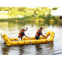 Portable Lightweight PVC Inflatable Rescue Boat For Firefighting Manufactures
