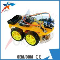 High Performance Arduino Car Robot Electric Car Chassis , Intelligent Diy Model Car Toy Manufactures
