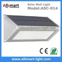 1000LM Radar Sensor 48LED Solar Wall Light Wireless Security Garden Wall Mounted Yard Lamp Manufactures