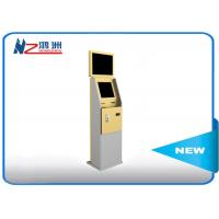 Dual Display Bank Atm Machine With Stand Pc , Stand Alone Outdoor Kiosk Manufactures