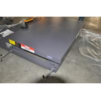 Work Shop Applied Guide Rail Moving Cargo Lift Table with 2000Kg loading and controled by electricity Manufactures