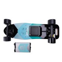 High Powered Electric Skateboard Trucks 9 Layers Maple Deck Material , 100kg Max Load Manufactures