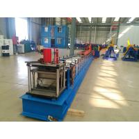 Tube Roll Former Downpipe Roll Forming Machine With Double Head Decoiler Manufactures