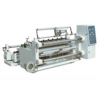 China High Output Non Woven Slitting Machine , Slitter Rewinder Machine Stable Feeding on sale