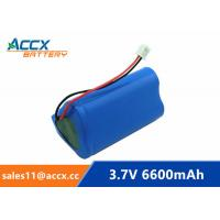 18650 3.7V 6600mAh rechargeable li-ion battery pack 1S3P for home appliancewi with jst connector and PCM Manufactures