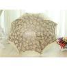 3 Fold Strong Windproof Folding Umbrella Sun Parasol Umbrella With Beautiful Lace Manufactures