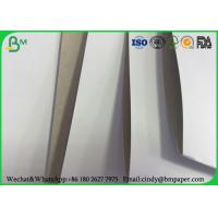 White Top Clay Coated Paperboard , 230g 250g 300g One Side Coated Paper Board Manufactures