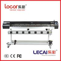 Original lecai inkjet printer with double four color and Japanese E-pson DX5 print head for indoor/outdoor Manufactures
