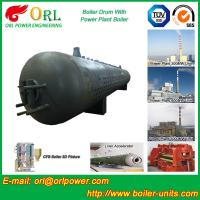 Customization Diesel Boiler Drum Thermal Insulation With Water Tube Manufactures