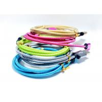 Metal Micro USB Charging Cable , Mobile Phone And Computer Micro USB Flat Cable Manufactures