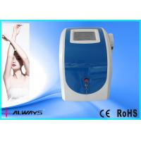 Blue Portable IPL Hair Removal Machine For Home Use , 10 - 50J/cm2 Water Cooling Manufactures