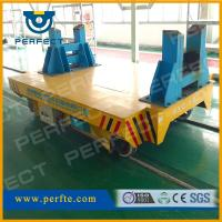 Battery powered rail flat transporter of rail transfer cart BXC-16T Manufactures