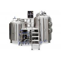 2HL Capacity 2 Kettle Brew System 2MM Exterior Shell For Pub / Restaurant Manufactures