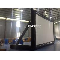PVC Tarpaulin Outdoor Inflatable Movie Screen Project Screen 7 x 4 m Manufactures