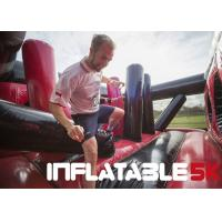 3.1 Miles Inflatable 5k Obstacle Course Run Insane Three Years Warranty
