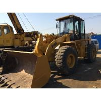 Front End Loader Second Hand Wheel Loaders , 966G Cat Track Loader 5200h 22.8 T Manufactures