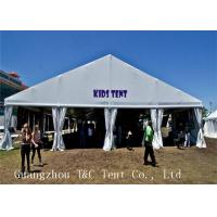PVC Coat Fabric Outdoor Party Tents With Hard Pressed Extruded Aluminum Alloy Manufactures