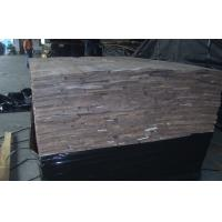 Crown Cut Black Walnut Wood Veneer ,  Natural Wooden Veneer  Sheets Manufactures