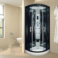 Indoor Glass Sauna Steam Shower Enclosure Unit , One Person Steam Shower Stall Manufactures