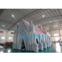 Nylon Fabric Inflatable Tunnel Tent Big Church Wedding With UL Air Blower Manufactures