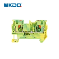 JPT 4-PE Push In Terminal Block Earth Grounding Front Entry Protective  IEC 60947-7-1 Standard Manufactures
