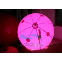 Quality LED Lighting Inflatable Air Advertising Balloons With 210T Polyester Cloth for sale