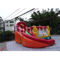0.55mm PVC Tarpaulin Inflatable Jumping Castle Kids Inflatable Bouncer With Slide Manufactures